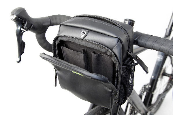 PODSACS Bike-n-Hike Handlebar-Shoulder Bag With Waterproof Cover